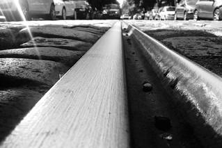 Rails on the street