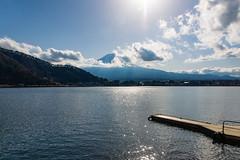 Mt. Fuji / Fujiyama / 富士山 (hiroshiken) Tags: 20171215 kawaguchiko 河口湖 mountain fuji fujiyama 風之亭kukuna前 kukunahotel south