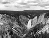 Lower Falls in Yellowstone National Park, Wyoming. Camera: Graflex Crown Graphic Pacemaker (1955). Film: New 55 Atomic-X. Process: Kodak D-76 (1+1) 11:00 @ 20c.⠀ (Shaun Nelson) Tags: largeformat 4x5 yellowstone film new55 yellowstoneriver yellowstonenationalpark filmphotography filmisnotdead graflex crowngraphic pacemaker lowerfalls atomicx panchromatic waterfall analog d76 kodak 4x5film sheetfilm ishootfilm believeinfilm shootfilm bw blackandwhite wy wyoming utfp