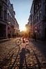 Bruges Bikes & Shades (Drummerdelight) Tags: streetphotography sunlightset sunlight sunsetting intothesun candidphotography
