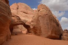 ARCHES NATIONAL PARK - Sand Dune Arch (AlCapitol) Tags: archesnationalpark sanddunearch nikon d800 utah arche