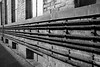(Cheese_And_Wine) Tags: cheeseandwine blackandwhite perspective 2470mm architecture victorianmill pipes