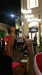 Black Lives Matter Black xmas actions in LA 2 (Backbone Campaign) Tags: guerrilla light projection solidarity brigade artful activism backbone campaign progressive protest creative action social change la los angeles blm black lives matter xmas christmas