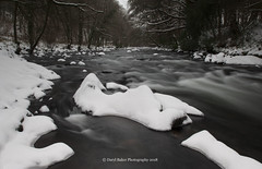 Snowfall on the River Dart (Daryl 1988) Tags: dartmoor devon snow landscape landscapephotography ice water river slowshutter trees filters spring weather winter march 2018 cold outdoors adventure nikon photography beautiful scenery view