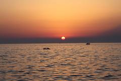 Sonnenuntergang an der slovenischen Mittelmeerküste (Stephan Möckel) Tags: slovenien mittelmeer izola