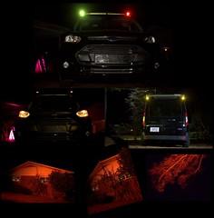 GR&A Covers On (jalexartis) Tags: lighting ledlighting ledlights van fordtransitconnect night nightphotography