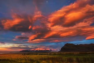 Vatnajökull Sunrise