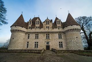 Monbazillac Castle : Dordogne : Périgord : France : Nikon D600 : Tokina 17mm F3.5 ATX Pro