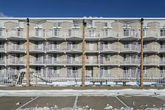 Shalimar Motel. (stevenbley) Tags: wildwood wildwoodcrest northwildwood nj newjersey beach winter snow offseason hotel motel january shore jerseyshore midcentury shalimarmotel shalimar