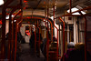 The Light at the End of the Tunnel (WT_fan06) Tags: tram tramway tramvai v3a bucharest bucuresti romania city urban public transport transportation interior red orange white dark bleak quiet silence january ianuarie 2018 nikon d3400 dslr tired spacious empty photography night nocturne bizarre peculiar odd weird unusual light people passengers reflection reflections artsy aesthetic atmosphere