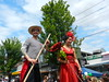 Italians with Sticks (knightbefore_99) Tags: car free day italy italian party street summer bc vancouver eastvan commercialdrive thedrive awesome candid people local stick gondolier