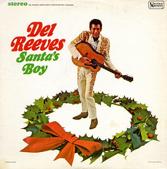 Santa's Boy (Jim Ed Blanchard) Tags: lp album record vintage cover sleeve jacket vinyl weird funny strange kooky ugly thrift store novelty del reeves santas boy christmas wreath country