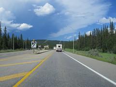 Approaching Jasper Nat'l Park gate between Jasper and Hinton, Alberta (jimbob_malone) Tags: 2017 highway16 alberta