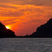 sunset from the yacht near Langkawi island, Malaysia      XOKA1487s