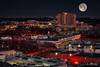 Super Moon (jed52400) Tags: hdr rockville maryland moon supermoon city afterdark