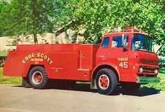 Edge-Scott Fire Protection District (Chicago Rail Head) Tags: illinoisraulfirefighting edgescottfd fireapparatus gmc tanker