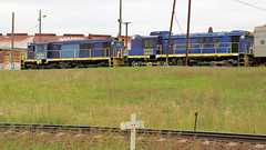 Usual JUNEE Layabouts! (Jungle Jack Movements (ferroequinologist)) Tags: junee new south wales nsw nswr nswgr usual graincorp roundhouse workshop gpu 2 48202 48 australia australian locomotive loco locos power grunt performance diesel electric rail railway railroad rails line bogie engineer train engine appliance kw traction run freight load pull gunzel gunzelling gunzeller transit authority 列車 培养 la traîne die eisenbahn treno el tren электровоз 内燃机车 station set platform pickup carriage trip stabled ballast class livery