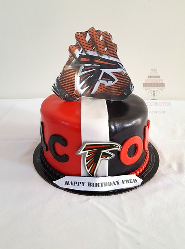 Atlanta Falcons Birthday Cake