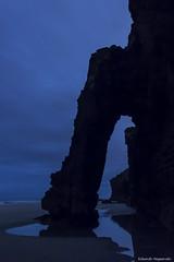 Playa de las Catedrales V (enogueroles) Tags: eduardo nogueroles playa catedrales lugo galicia españa nocturna