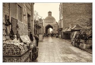 Bukhara UZ - Bakhwuddin Nakshbandi Street 03