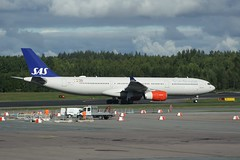 LN-RKS (IndiaEcho) Tags: lnrks airbus a330 scandianavian airlines airline system sas sk stockholm arlanda airport airfield arn essa sigtuna sweden canon eos 1000d civil aircraft aeroplane aviation airliner jet marsta uppland