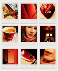 Can't Take My Eyes Off You (sjpowermac) Tags: can'ttakemyeyesoffyou valentines love happiness trip heart lipstick iphonex yorkshiretea seat scarf pink red jenner's edinburgh lunch flyingscotsman beauty eyes 91124