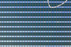 Facade with a curved line (Jan van der Wolf) Tags: map121115vv facade gevel gebouw geometric geometry geometrisch building windows ramen line lijn patroon pattern denhaag architecture architectuur curve
