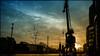 Kran am Duisburger Innenhafen (FotoTrenz NRW) Tags: duisburginnenhafen abendstimmung evening kran crane hafen silhouettes sunset contrast duisburg nrw ruhrgebiet ruhrpott