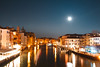 Venice, Italy (T is for traveler) Tags: travel traveler traveling tisfortraveler backpacker digitalnomad explore venice italy europe adventure water canal city boat longexposure lights night light trails photography canon eos 700d 1750mm sigma