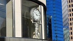 Father Time (Bad Kicker) Tags: fathertime vancouver city urban clock sculpture