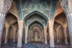 Prayer Hall of Vakil Mosque, Shiraz, Fars Province, Iran (Feng Wei Photography) Tags: islamicculture persianculture traveldestinations spirituality islam persian landmark indoors shiite colorimage prayerhall shiiteislam pillar islamic shiraz holy famousplace builtstructure iran iranianculture travel placeofworship middleeast decoration architecture vakilmosque mosque horizontal tourism farsprovince irn