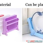 Plastic foldable dish drainer rack plate cup drying shelf kitchen storage holder rack kitchen storage tools- Linkyweb.com