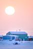 Arctic Sunrise (Kristaaaaa) Tags: light snow sun tuktoyaktuk winter arctic north canada northwestterritories wind shadow frozen fuji fujifilm fujixt2 fujilove fujix
