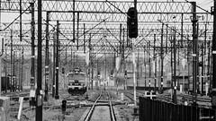 Olsztyn trainyard (Sylwester Ch.) Tags: olsztyn pociąg dworzec kolej szyny train tren zug 1025fav