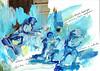 HISTORIA DE UN DIBUJO (GARGABLE) Tags: angelbeltrán apuntes gargable drawings dibujos técnicamixta rotulador papel collage