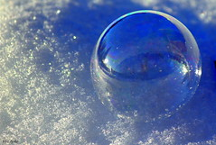 The frozen soapball (irio.jyske) Tags: soap soapball ball people fun game play playfull winter snow ice cold freeze frost frozen sun naturepic naturescape naturephotograph naturepictures naturephoto naturephotos nature canonpic canonphoto canonphotograph canonpictures canonlens canoncamera canon canonpics