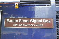 Great Western Railway HST 43163 Exeter Panel Signal Box 21st Anniversary 2009 (Will Swain) Tags: london paddington station 13th october 2017 gwr first group class 43 high speed greater capital city south east train trains rail railway railways transport travel uk britain vehicle vehicles country england english great western hst 43163 exeter panel signal box 21st anniversary 2009 163