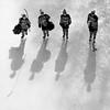"""Growing Up"" (Derek Mellon) Tags: hockey shadows ottawa rideaucanalskateway icehockey blackandwhite bw|"