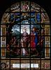 Église Sainte-Élisabeth-de-Hongrie à Paris (Denis Krieger) Tags: vitrail vitraux vitrais vetrata colorata glasmalerei stained glass window farbfenster