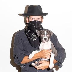 Me & Luna (J Trav) Tags: ownerseyes portrait animal 500x500 selfportrait itshiptobesquare pitbull pet dog