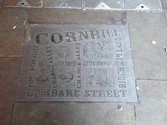 Cornhill and alleys paving map (Matt From London) Tags: london cornhill pavement map lombardstreet
