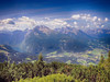 View from Eagle's Nest 045HDRTMD1m (Andras, Fulop) Tags: germany bayern nikon p7700 landscape alps mountain hdr