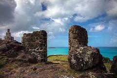 Fort Louis overlooking Marigot Bay, Sint Maarten (clive_metcalfe) Tags: stmaarten carribean fortlouis fort marigotbay stone ocean defence