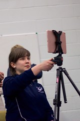 Sanna videographing