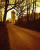 Another Country Road (lancekingphoto) Tags: countryroad gravel rural trees silo tennessee thesouth chinonbellami 35mm fujisuperiaxtra400 redscale bifscale18 unicolor