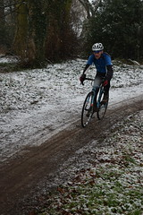 DSC_0039 (sdwilliams) Tags: cycling cyclocross cx misterton lutterworth leicestershire snow