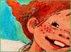 Speckled Freckles (Silke Klimesch) Tags: macromonday speckled mm hmm happymacromonday 7dwf pippilongstocking pippilångstrump freckled freckles drawing picturebook cmyk colourful fun processcolor fourcolor dots astridlindgren spunk pippilovesspunk 1948 pippilangstrumpf vierfarbdruck druckpunkte dpi dotsperinch pippicalzaslargas fifibrindacier pippicalzelunghe pippilangkous pippilangstrømpe pippiuzunçorap pipidugačarapa пеппидлинныйчулок makrofotografie nahaufnahme olympus omd em5 mzuikodigitaled60mm128macro microfourthirds on1photoraw2018
