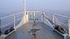 Ice and fog in the bay Lilla Värtan in Stockholm, as seen from the commuter boat Gurli (Franz Airiman) Tags: is ice isflak icefloe foredeck fördäck gurli msgurli winter vinter bay fjärd snö snow lillavärtan lillavärtanbay stockholm sweden scandinavia