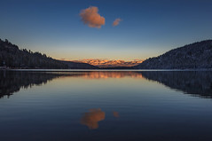 Donner Lake (Juan Pablo J.) Tags: longexposurephotography landscapes outdoors ocaso sunset sunsetmadness sundown clouds california canon5dmkii canon24105mmf4l