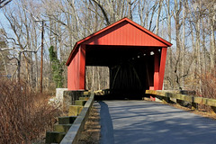 Jericho Covered Bridge (karma (Karen)) Tags: jerichocoveredbridge historicbridge nrhp gunpowderfallssp mdstateparks fences jerusalem harfordco kingsville baltimoreco hff topf25